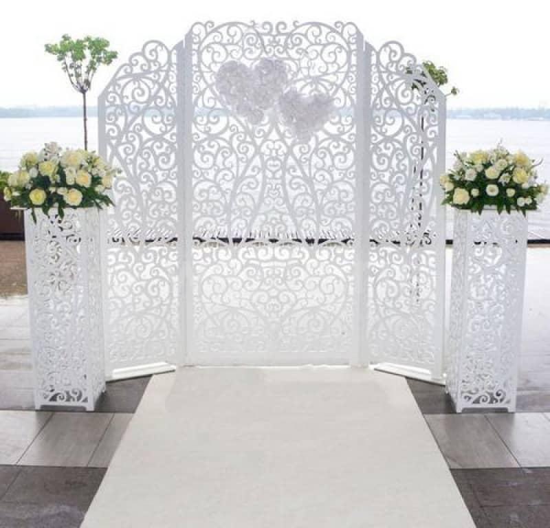 Свадебные ширмы своими руками